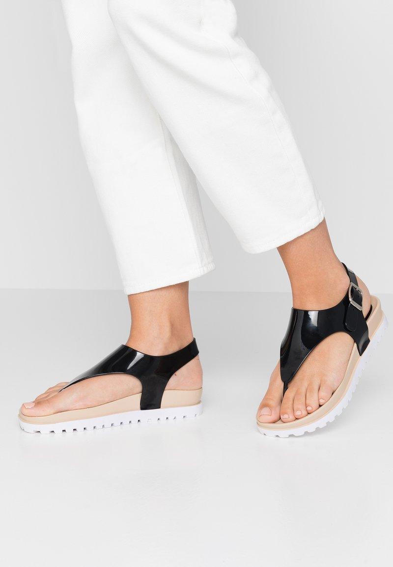 Matt & Nat - ABI VEGAN  - T-bar sandals - black