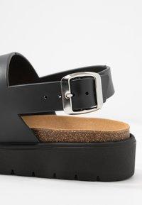 Matt & Nat - VEGAN ASHAI - Sandals - black/natural - 2