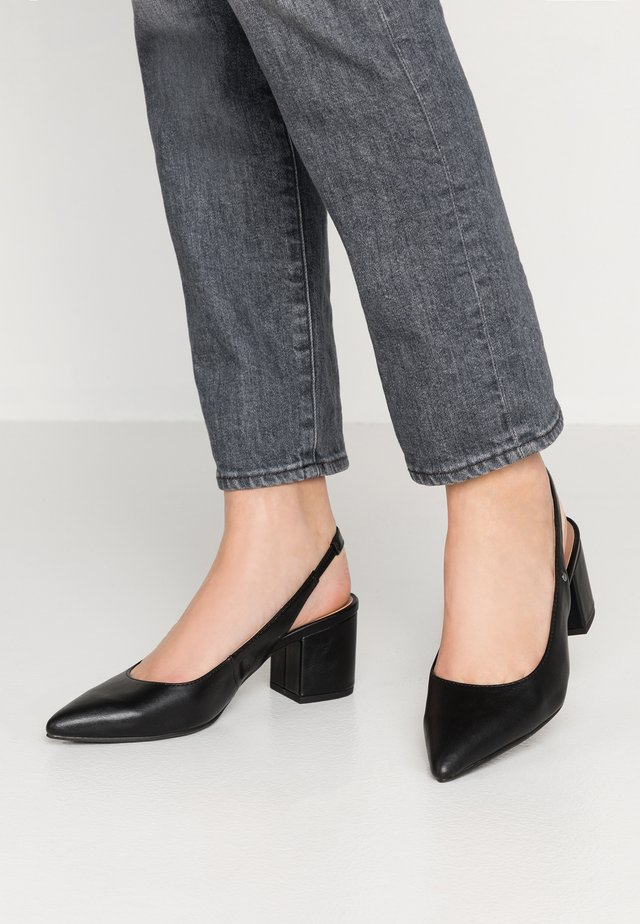 IMAN VEGAN  - Klassiske pumps - black
