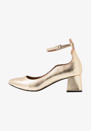 OLIVIA VEGAN  - Classic heels - gold