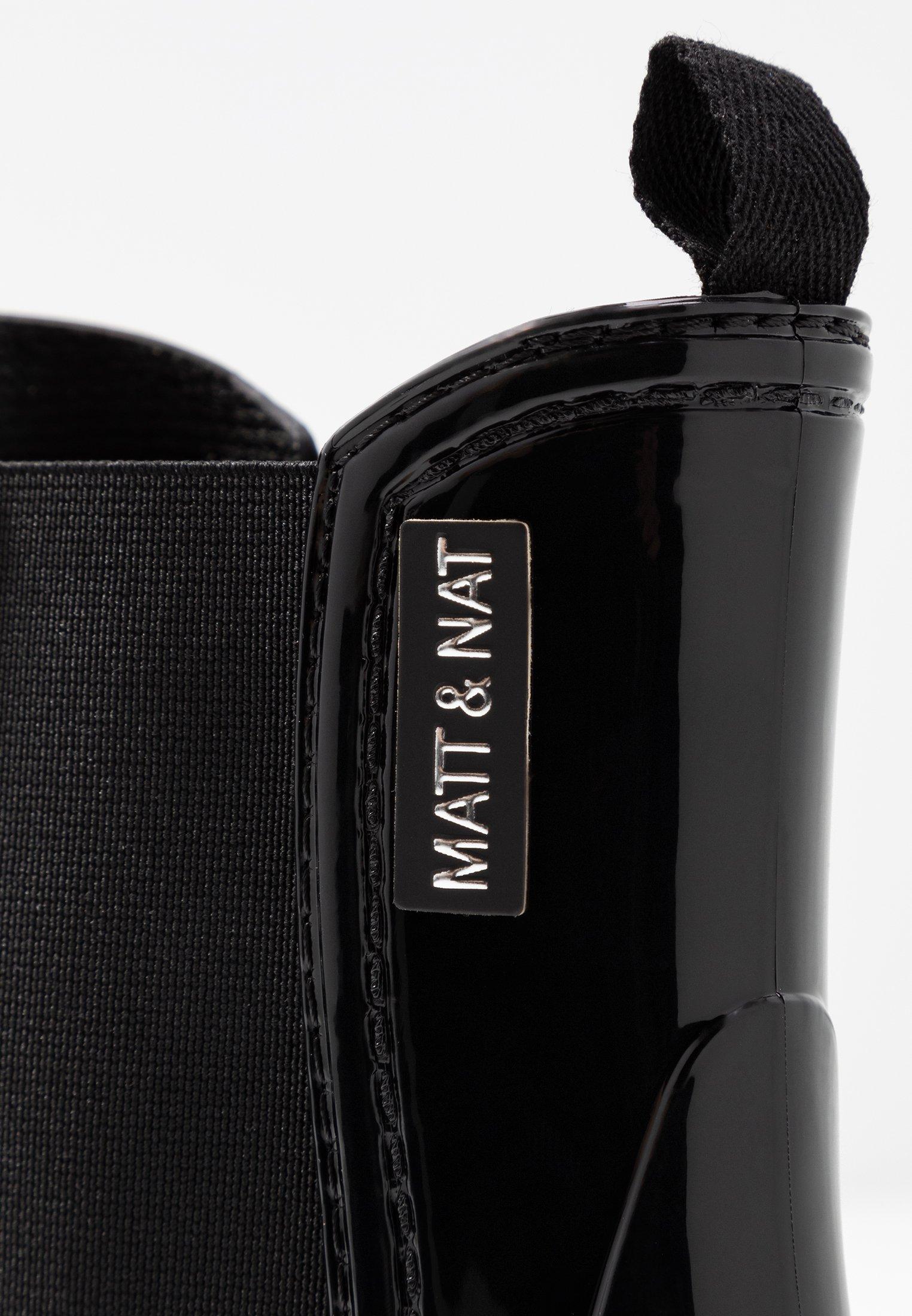 Matt & Nat CHELZ - Bottes en caoutchouc black