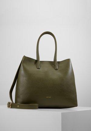 KRISTA DWELL - Shopping Bag - leaf