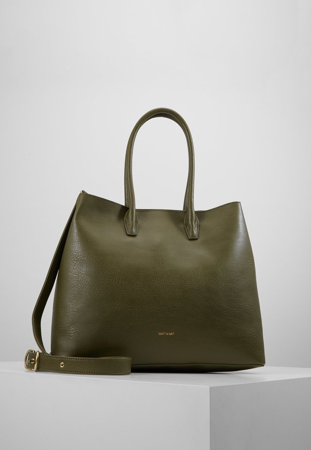 KRISTA DWELL - Shopping bag - leaf