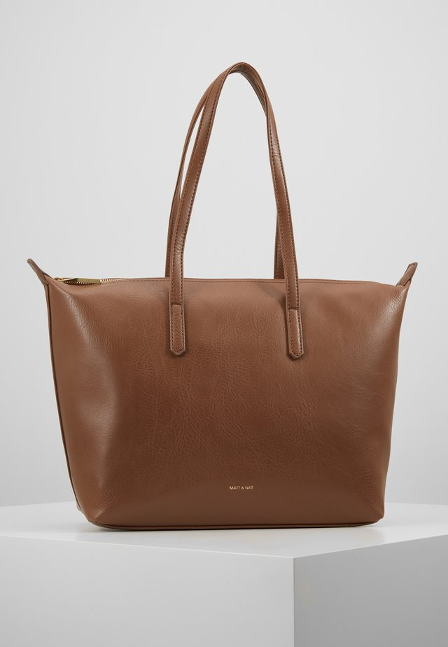 ABBI DWELL - Handbag - brick