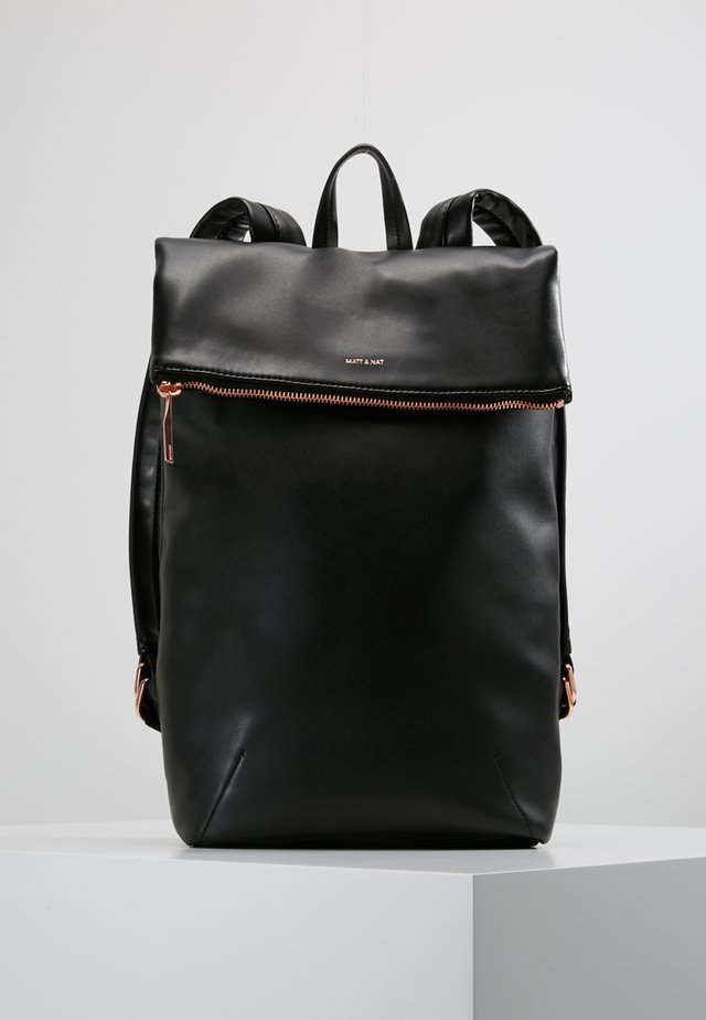 COLTON LOOM - Rucksack - black/rose