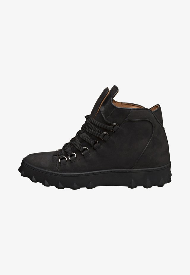 SILEA - Veterschoenen - black