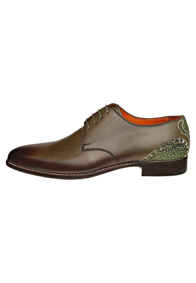 CROTONE - Veterschoenen - dark green