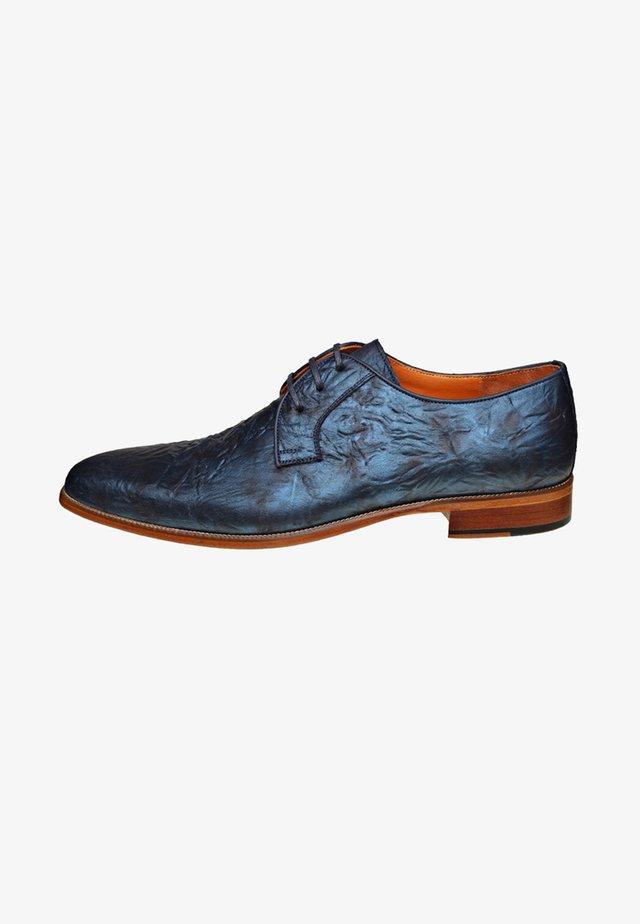 TIRRENI - Sportieve veterschoenen - blue