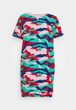 Korte jurk - mix pink
