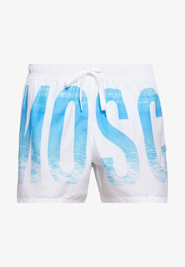 SWIM BRIEF - Swimming shorts - bianco