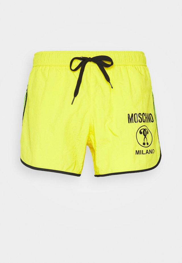 BOXER - Swimming shorts - yellow