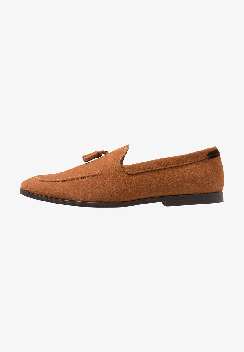 Burton Menswear London - SILVIO TASSEL LOAFER - Mocassins - tan