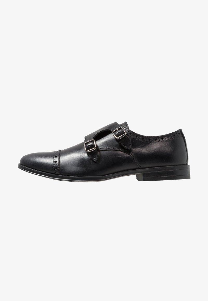 Burton Menswear London - REETA MONK - Mocasines - black