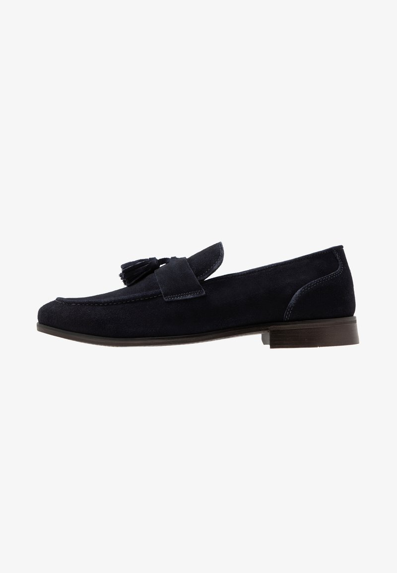 Burton Menswear London - DORMY LOAFER - Mocasines - navy