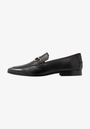 MARCO SNAFFLE LOAFER - Slip-ins - black