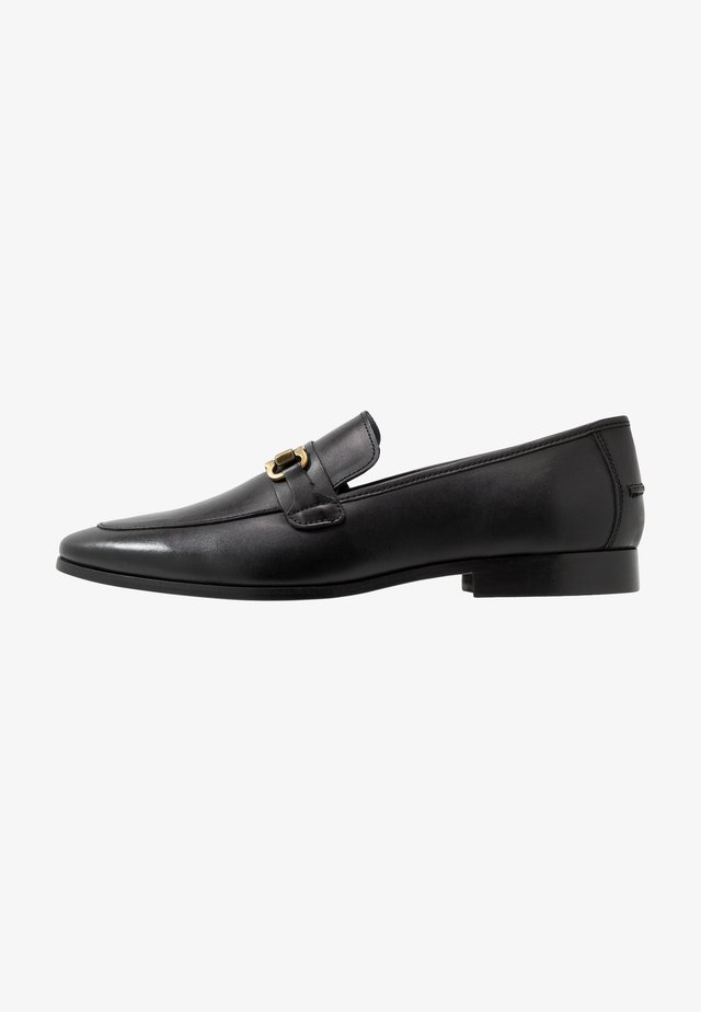 MARCO SNAFFLE LOAFER - Slippers - black