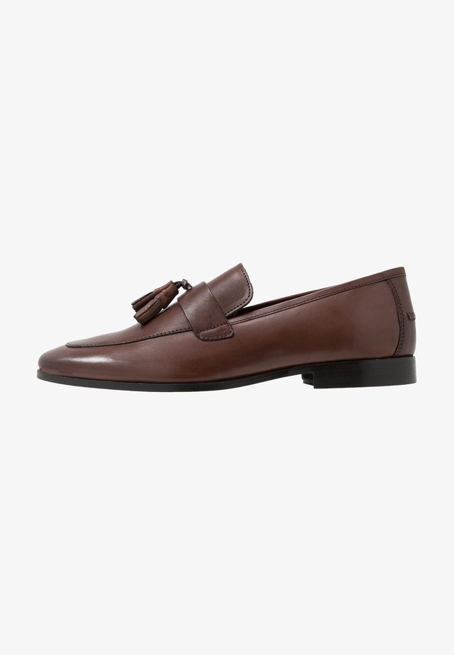 MILO TASSEL LOAFER - Slip-ins - brown