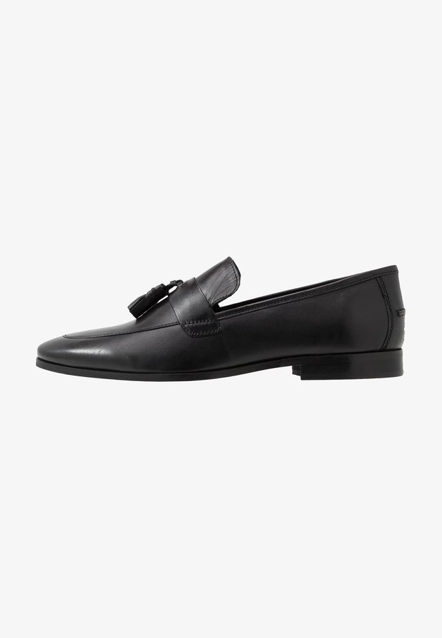 MILO TASSEL LOAFER - Slip-ons - black