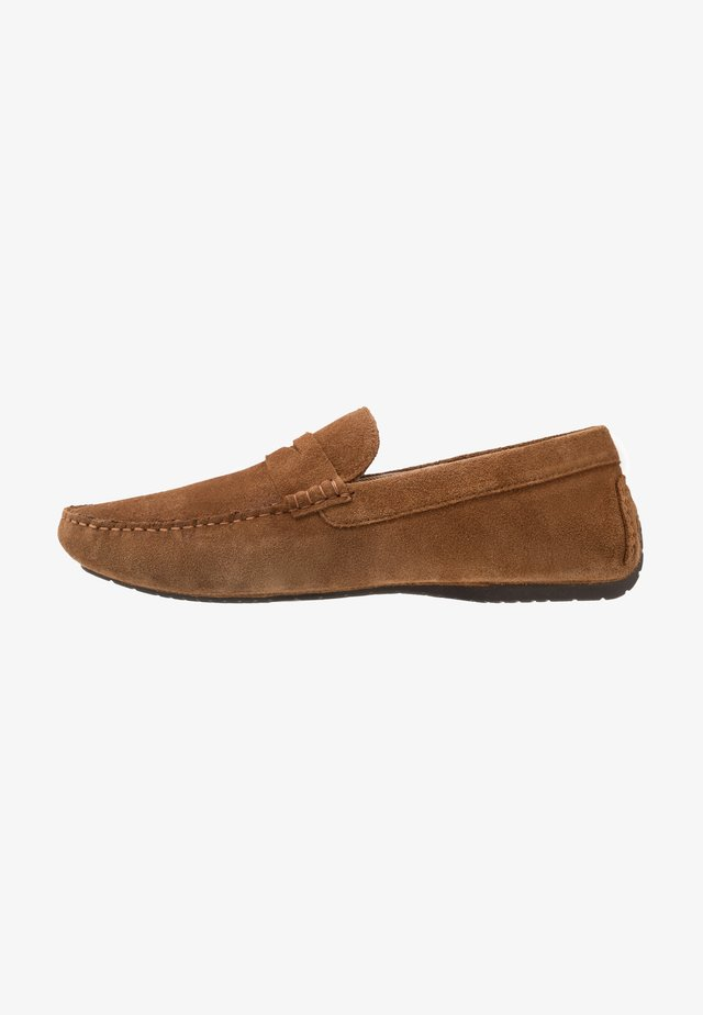 FLINT DRIVING LOAFER - Moccasins - tan