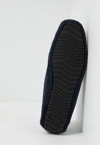 Burton Menswear London - FLINT DRIVING LOAFER - Mokasíny - navy - 4