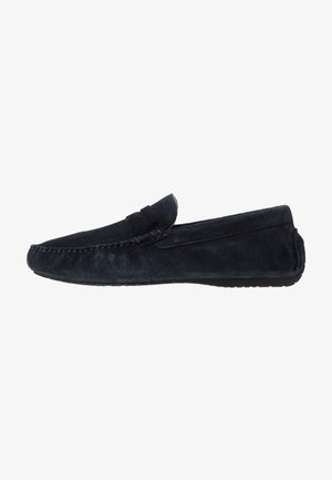 FLINT DRIVING LOAFER - Mokasíny - navy