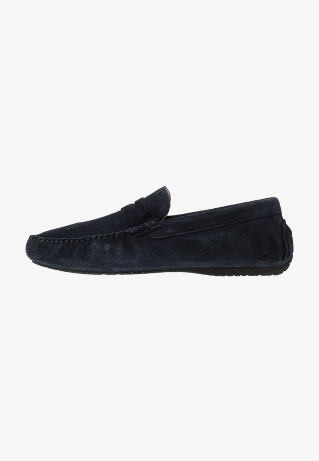 FLINT DRIVING LOAFER - Moccasins - navy