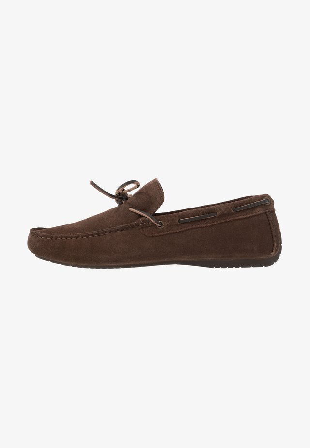 FLINT LACE DRIVER - Moccasins - brown