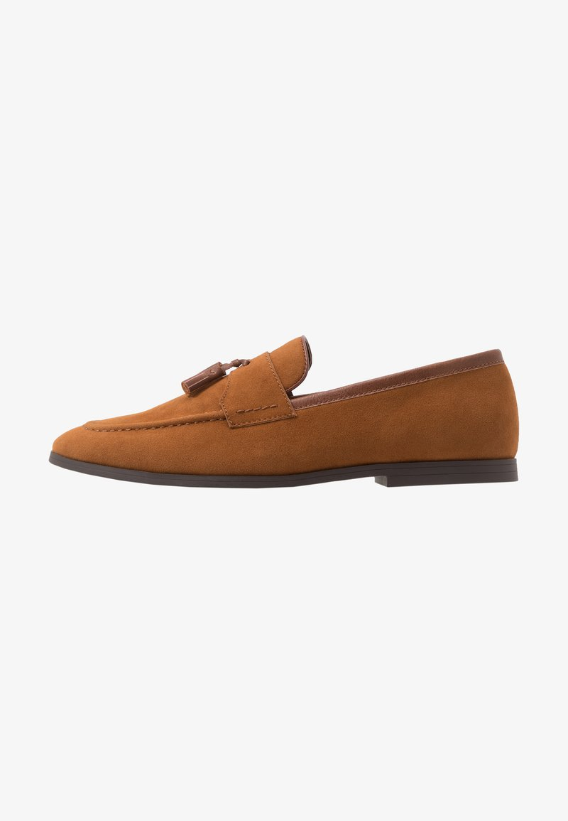 Burton Menswear London - SYLVAIN TASSEL LOAFER - Slip-ons - tan