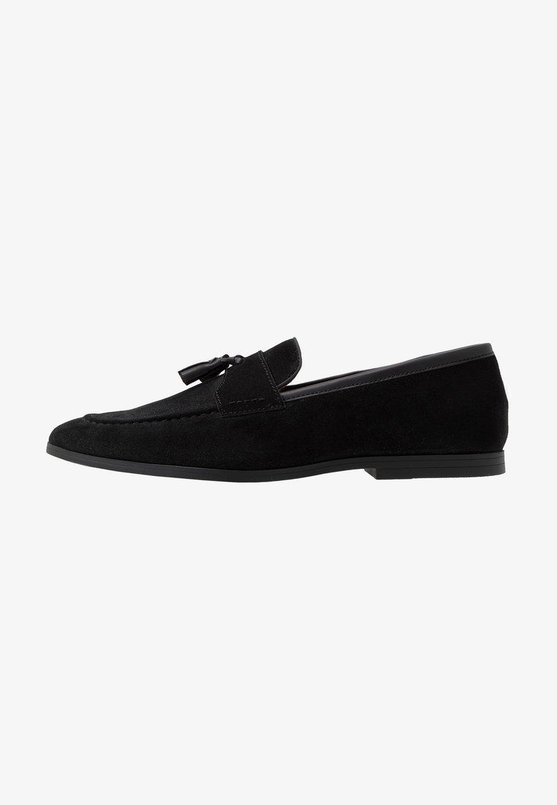 Burton Menswear London - SYLVAIN TASSEL LOAFER - Slip-ons - black
