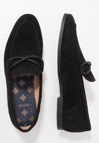 Burton Menswear London - SORREL LOAFER - Eleganckie buty - black - 1