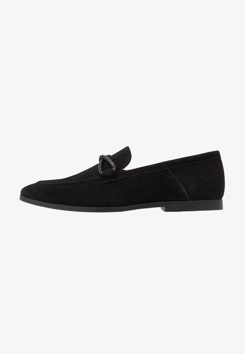 Burton Menswear London - SORREL LOAFER - Eleganckie buty - black