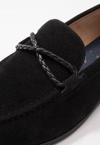 Burton Menswear London - SORREL LOAFER - Eleganckie buty - black - 5