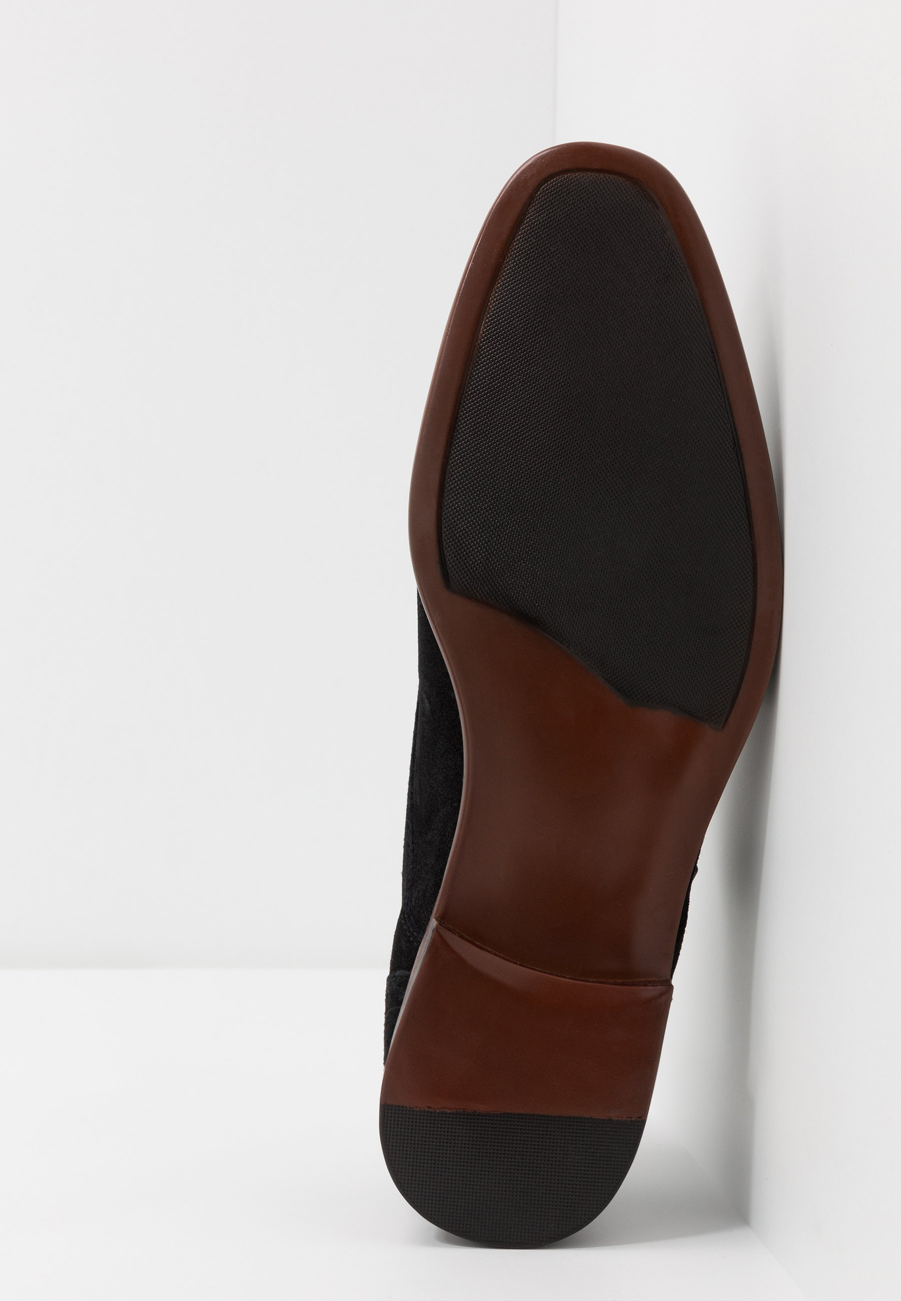 Burton Menswear London MONK - Eleganckie buty - black