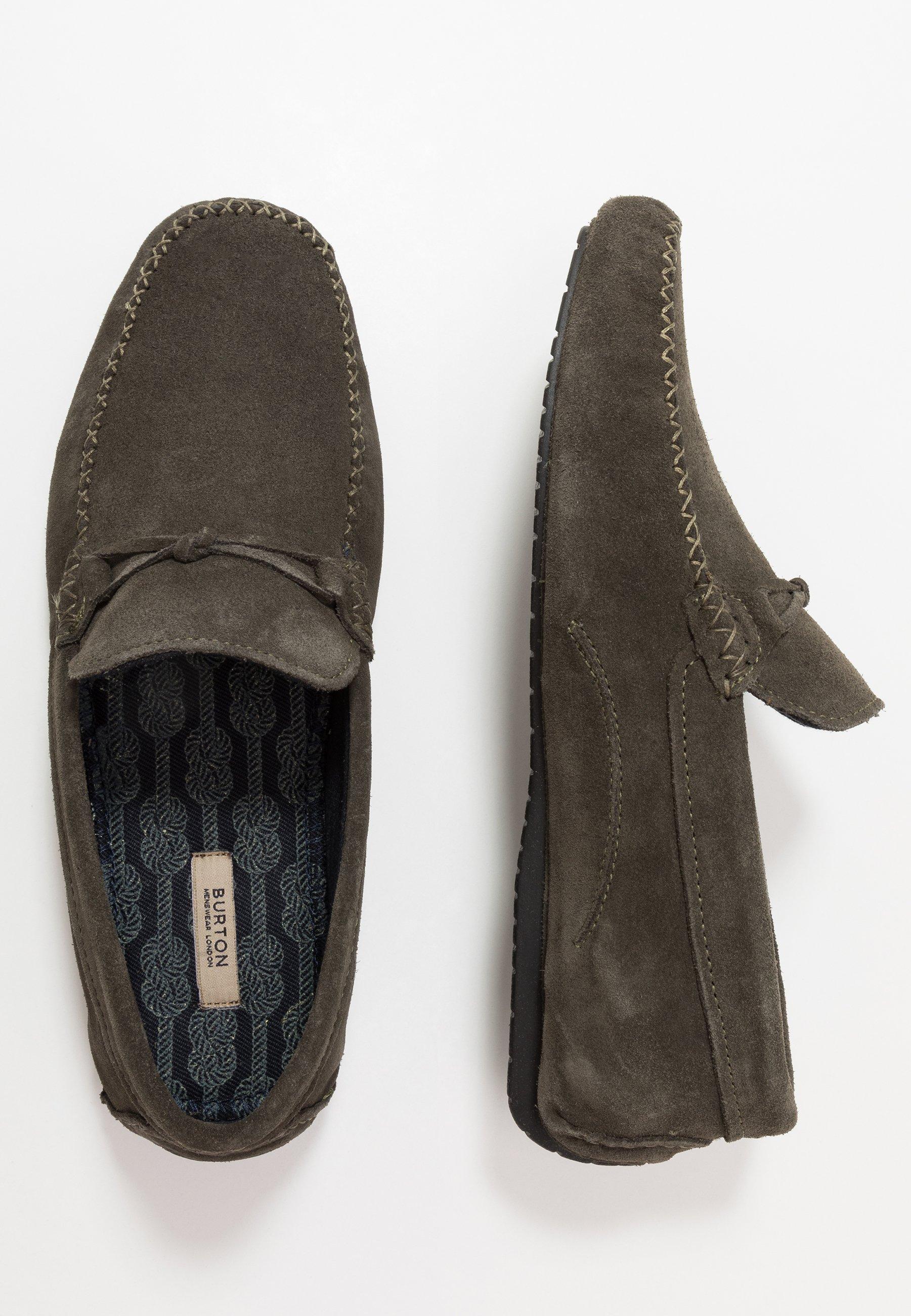 Burton Menswear London Ford Driver - Mocassini Khaki