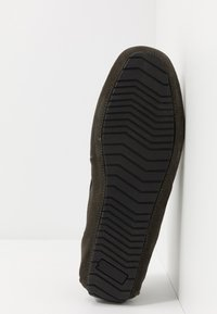 Burton Menswear London - FORD DRIVER - Mokasíny - khaki - 4