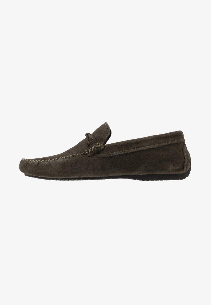 Burton Menswear London - FORD DRIVER - Mokasíny - khaki