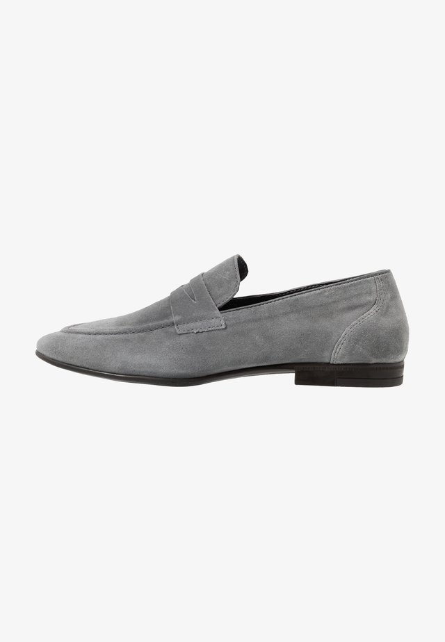 HUNTER LOAFER - Smart slip-ons - grey