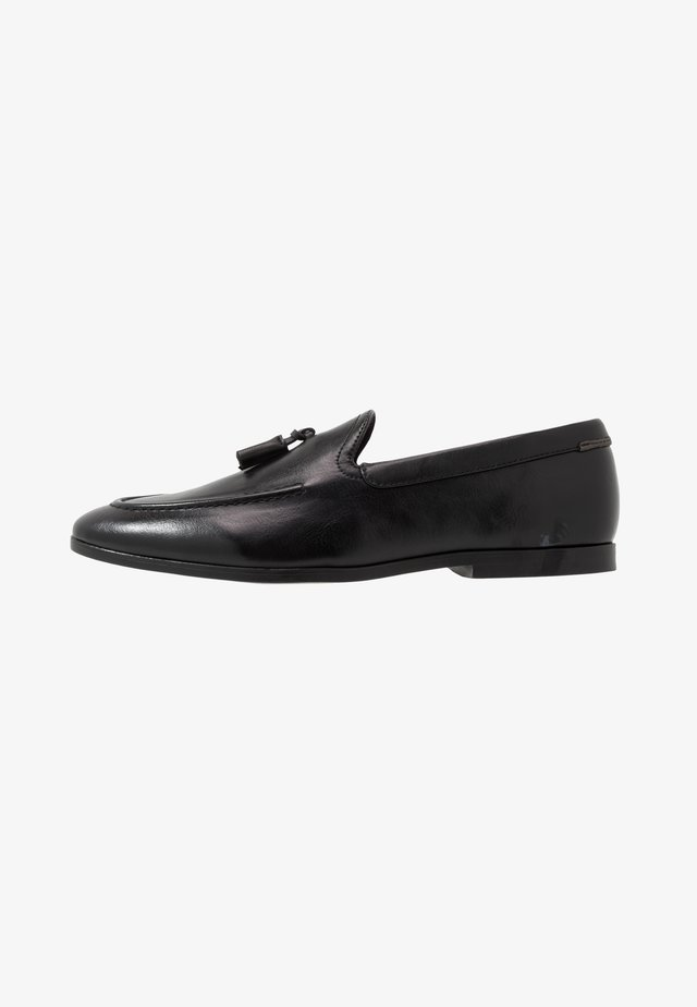 CHARLIE  - Smart slip-ons - black