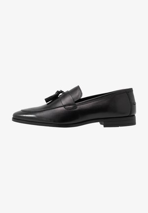 WYATT - Smart slip-ons - black