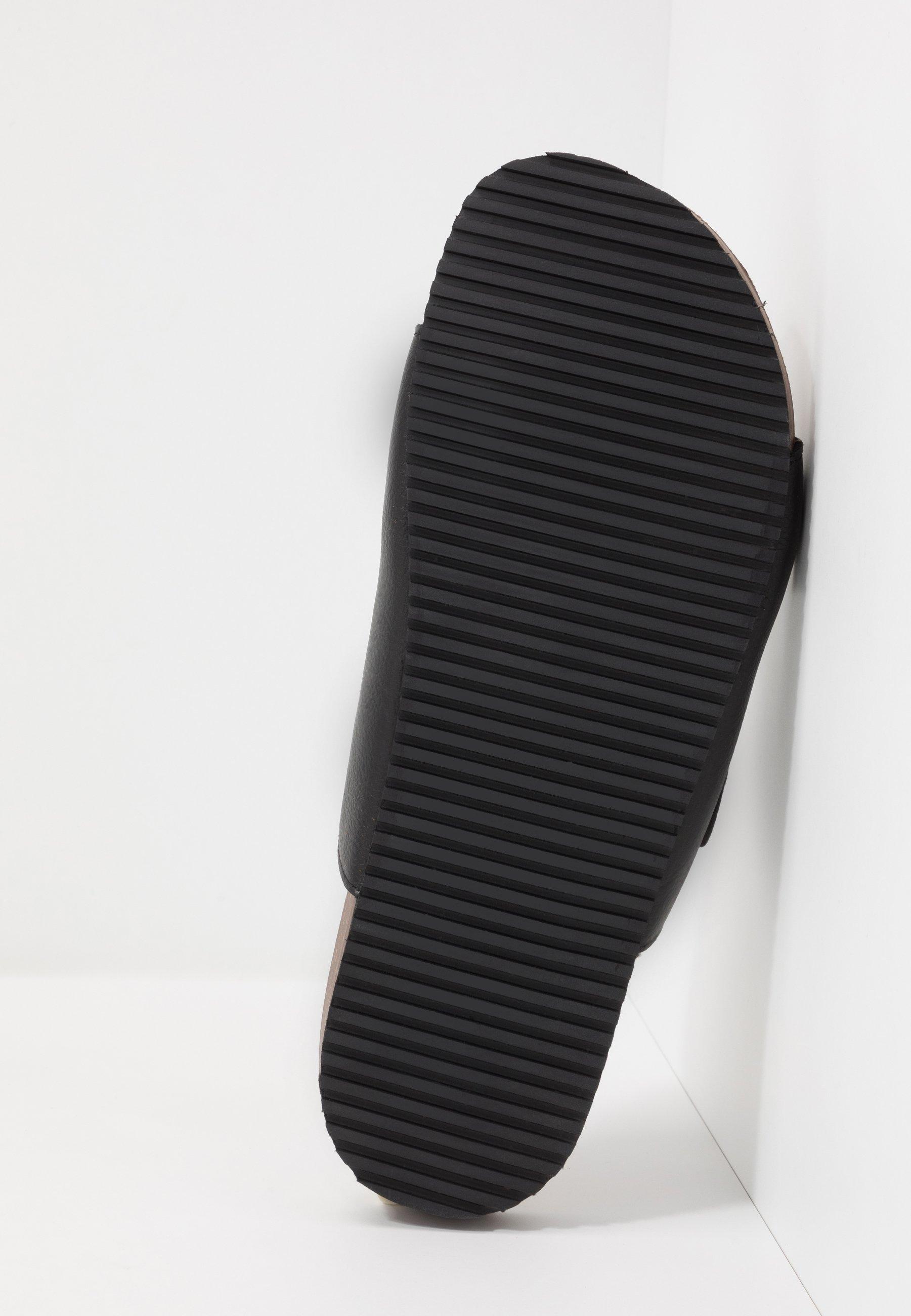Burton Menswear London Floyd - Pantoffels Black Goedkope Schoenen