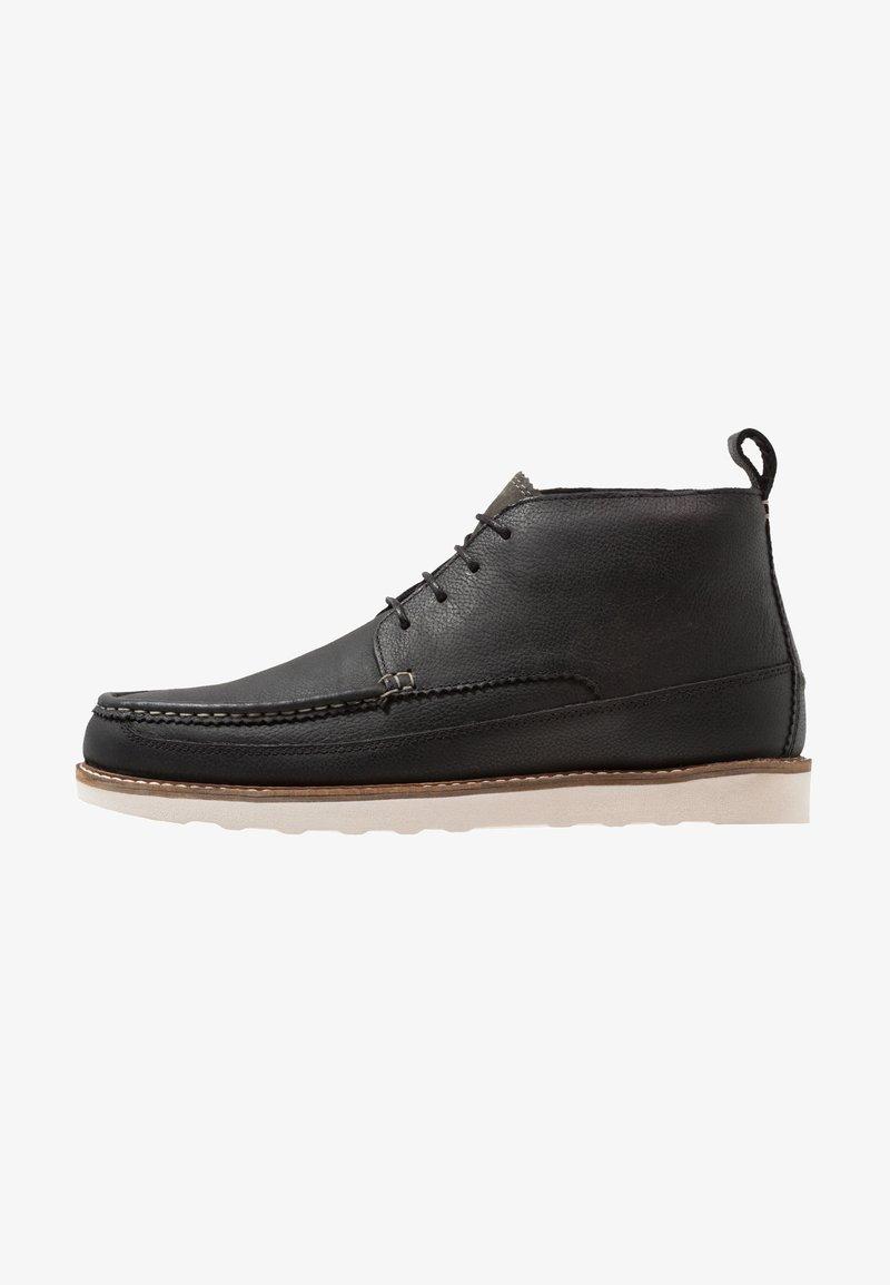 Burton Menswear London - DAVIS CHUKKA - Lace-up ankle boots - black