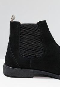 Burton Menswear London - CARPENTER CHELSEA - Støvletter - black - 5