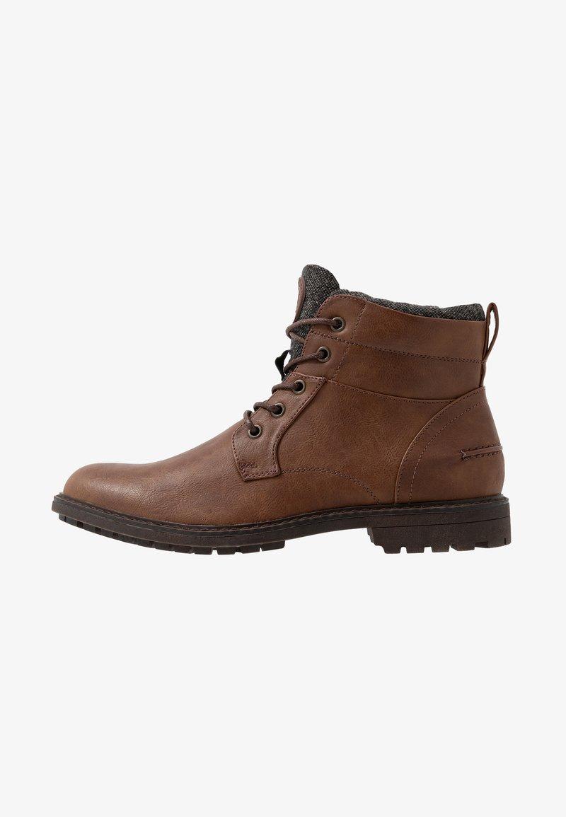 Burton Menswear London - PICKFORD WORKER BOOT - Schnürstiefelette - tan