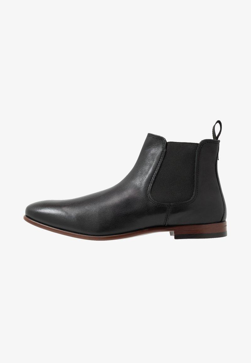 Burton Menswear London - BANKS CHELSEA - Kotníkové boty - black