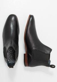 Burton Menswear London - BANKS CHELSEA - Kotníkové boty - black - 1