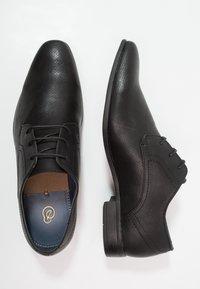 Burton Menswear London - REES DERBY - Business sko - black - 1
