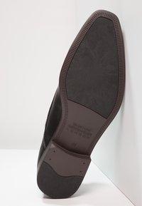 Burton Menswear London - REES DERBY - Business sko - black - 4