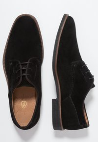 Burton Menswear London - CARLOS DERBY - Smart lace-ups - black - 1