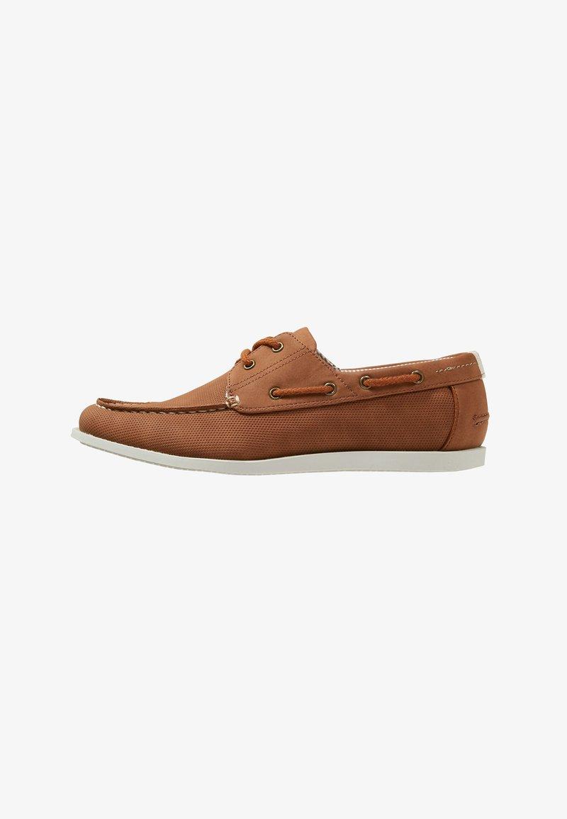 Burton Menswear London - FELLOW BOAT SHOE - Náuticos - tan