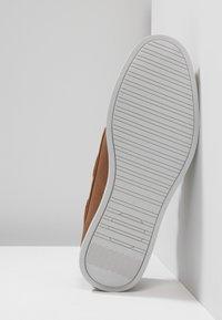 Burton Menswear London - FELLOW BOAT SHOE - Boat shoes - tan - 4